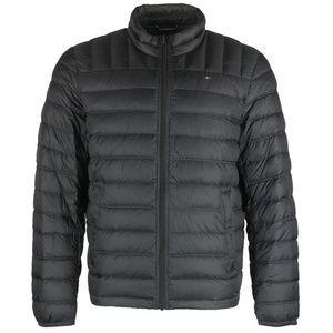 Tommy Hilfiger Men's Mock Neck Puffer Jacket